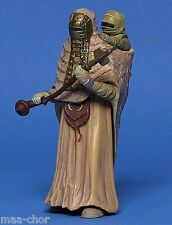 STAR WARS LOOSE AOTC RARE FEMALE TUSKEN RAIDER WITH CHILD MINT CONDITION. C-10+