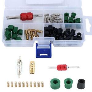 Repair Tools Kit 50 Pcs Rubber Hose Gaskets Refrigeration AC Manifold Gauge