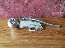 Superbo RARO 1914 Argento Sterling WW1 NOSTROMO'S WHISTLE da Charles Usher