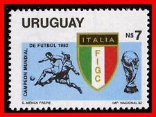 URUGUAY 1983 WORLD CUP SOCCER/FOOTBALL  SC#1144  MNH SPORTS (E=B2)