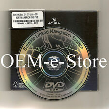 2001 2002 Acura MDX Touring Package Satellite Navigation OEM DVD Map 2011 Update