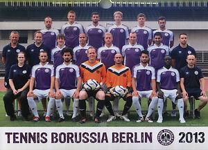 TeBe-Kalender 2013 - Tennis Borussia Berlin - Fussball - Freunde - Rock'n'Roll