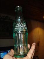 VTG EMPTY BULGARIAN COCA COLA/KOKA KOЛA GLASS BOTTLE MARKED COLLECTORS BOTTLE
