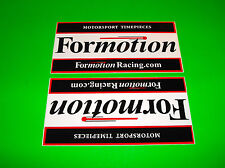 FORMOTION COMPASS CLOCKS THERMOMETERS HARLEY DAVIDSON METRIC BIKE STICKERS DECAL