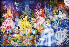 "Jigsaw Puzzles 1000 Pieces (Hologram) ""Disney Shining Princess"" / Disney / Tenyo"