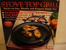 Royal Chef Stove Top Grill  Xylan Non-Stick Coating New