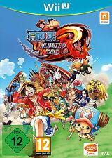 One Piece: unlimited World RED   Nintendo Wii U   usato in scatola originale con istruzioni