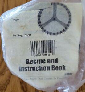 """Pampered Chef 3.5"""" Tart Pastry Press Cutter Crimper Spring Loaded Vintage NOS SS"""
