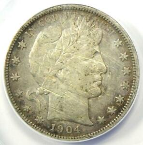 1904-S Barber Half Dollar 50C - ANACS VF30 Details (Scratched) - Certified Coin