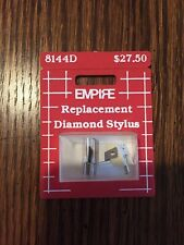 Empire Replacement Diamond Stylus 8144D For Pickering Cartridge Phase IV AT
