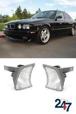 NEU BMW 5 SERIE E34 1988 - 1995 Blinker vorne Licht Marker weiß Paar Set