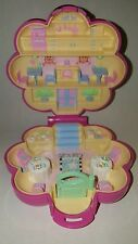 1990 Vintage Polly Pocket Mr. Fry's Restaurant Pink Compact Bluebird NO Figures