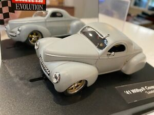 CARRERA EVOLUTION '41 WILLYS COUPE HOTROD LEADSLED RARE!! used
