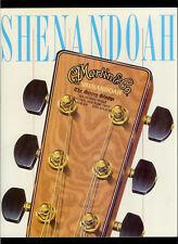 1990 CF Martin Shenandoah Acoustic Guitar Brochure D-6732/4132/2832/6032 & More!