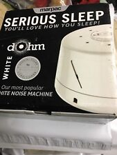 White Noise Sound Generator Machine Privacy Sleep Office Therapy Quiet Sleepmate