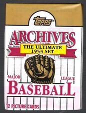 1991 TOPPS ARCHIVES BASEBALL PACK