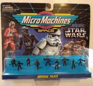 MicroMachines Space - Star Wars collection 66080 #4 Imperial Pilots 1994
