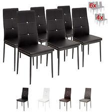 6 x Esszimmerstühle DIAMOND - schwarz - Esszimmerstuhl Küchenstuhl Stuhl Stühle