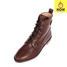 RRP €670 STUART WEITZMAN Leather Ankle Boots Size 39.5 UK 6.5 US 9 Lace Up