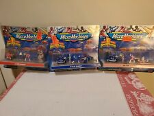 Micro Machines Mighty Morphin Power Rangers PINK RANGER 3 SETS 1994 Galoob #5