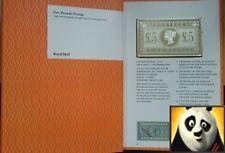 2003 £5 FIVE POUNDS ORANGE VICTORIAN STAMP SILVER PROOF INGOT PRESENTATION PACK