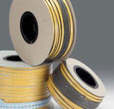 Guarnizione piatta adesiva in fibra di vetro 10*4 mm - 600°C