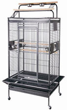 Large Bird Parrot PlayTop Cage Cockatiel Macaw Conure Aviary Pet Supply Finch405