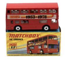 Daimler White Metal Diecast Bus