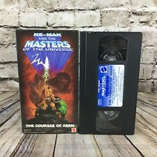 He-Man And The Masters Of The Universe The Courage Of Adam VHS Cassette Tape