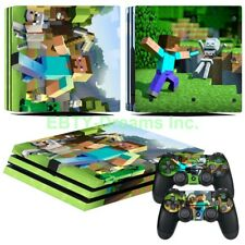 Mine Video Game Vinyl Skin Sticker Decal Protector for Playstation 4 PS4 Pro