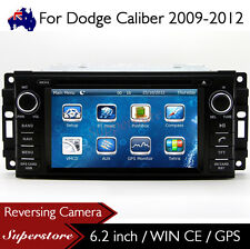 "6.2"" Car DVD GPS Navigation Head Unit Stereo Radio For Dodge Caliber 2009-2012"
