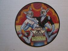 "Aerosmith numbered import 7"" picture disc single"