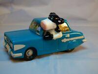 Nickelodeon 2006 Barnyard Joy Riding Cows Car Plastic Movie Toy Animated