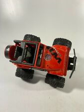 New Bright Red Jeep RC Car No Remote/Battery Cover As Is Off Road Wild Country