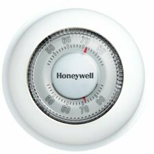 Honeywell Ct87K1004 Round Heat Only Non-Programmable Manual Thermostat