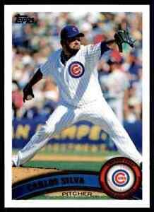 2011 Topps Carlos Silva #86 Chicago Cubs
