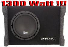 """SUBWOOFER AUTO 8"""" ATTIVO AMPLIFICATO 1300 WATT 20 CM. BOX CON STOPPER!!!"""