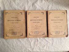 Anthony Trollope - Can You Forgive Her? - 1st Tauchnitz Ed - Original Three Vols