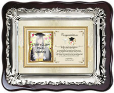 Medical School Graduation Picture Frame College Graduate Photo Physician Plaque
