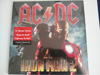 "AC/DC ""Iron Man 2"" double 2LP 180GM vinyl pressing New sealed"