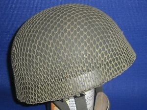 WW2 Helmet - Brit Para HSAT Fibre Rim (coverted from RAC shell)