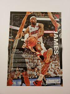 Lebron James Elena Della Donne Sports Illustrated For Kids Poster 15x11