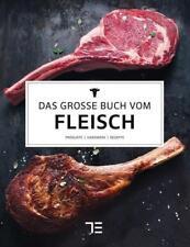 Das große Buch vom Fleisch von Teubner (2017, Gebundene Ausgabe) verschweißt Neu