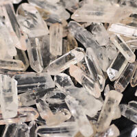 Wholesale 200g Bulk Small Points Raw Quartz Crystal Healing Reiki Mineral Wand