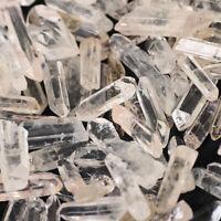 Wholesale 200g Bulk Small Points Raw Quartz Crystal Healing Reiki Mineral Wand
