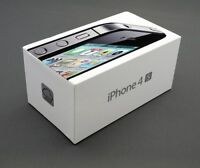 Apple iPhone 4s - 16GB Black Unlocked To All Networks Smartphone (NEW AND BOXED)