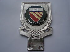 SCARCE C1960S MANCHESTER UNITED FOOTBALL CLUB J.R.GAUNT MADE ENAMEL CAR BADGE