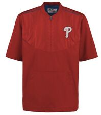 Majestic Men's Philadelphia Phillies On Field Training Jacket Jersey XXL 2XL MLB