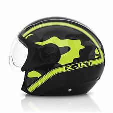 casco ACERBIS X-Jet On Bike NERO/GIALLO taglia L