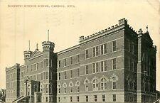 Iowa, IA, Carroll, Domestic Science School 1909 Postcard